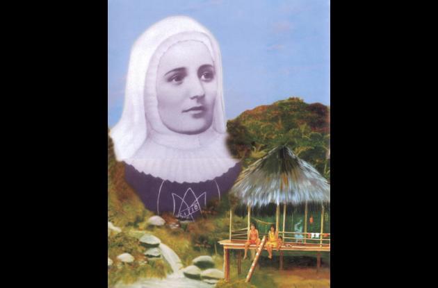 Madre Laura Montoya Upegui, santa de la Iglesia Católica.