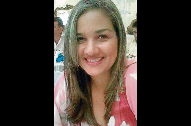 María Lina Simancas, médico veterinario.