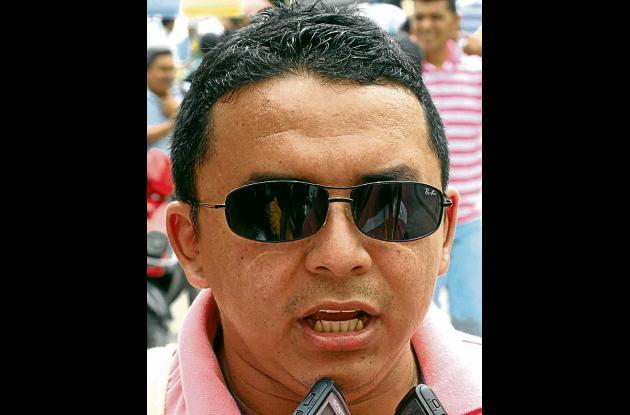 Mauricio Gamarra, presidente Sintrenal.