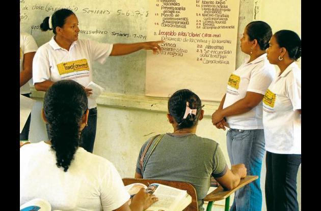 El modelo de educación interactiva en Sucre.
