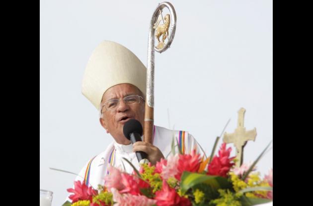 Monseñor Jorge Enrique Jiménez Carvajal, arzobispo de Cartagena.