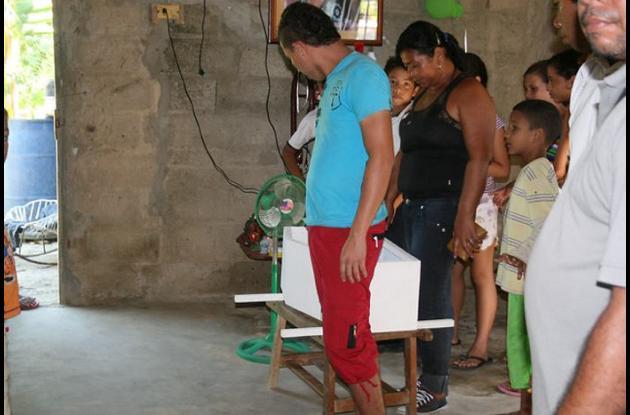 Xavier Samir Sanjuán Molinares, un bebé de 47 días de nacido falleció por bronco