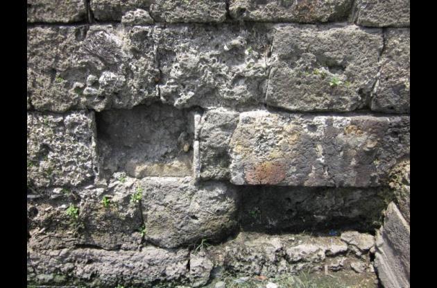 Deterioro de murallas de Cartagena