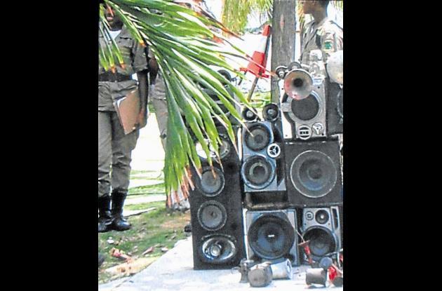 Operativos en Castillo contra el ruido