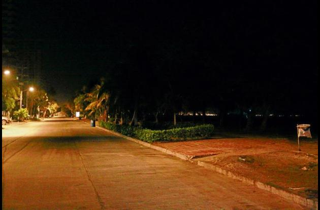 paseo peatonal de la playa de Castillogrande
