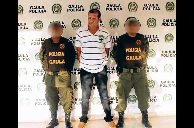 Alias 'el Patrón' fue capturado en una allanamiento a una residencia en Vista He