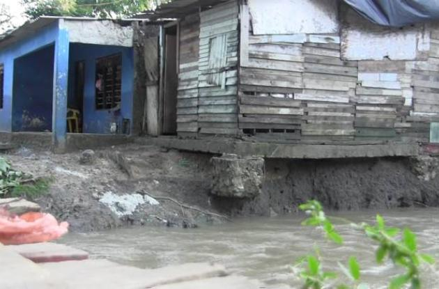 Inundación en barrio Policarpa