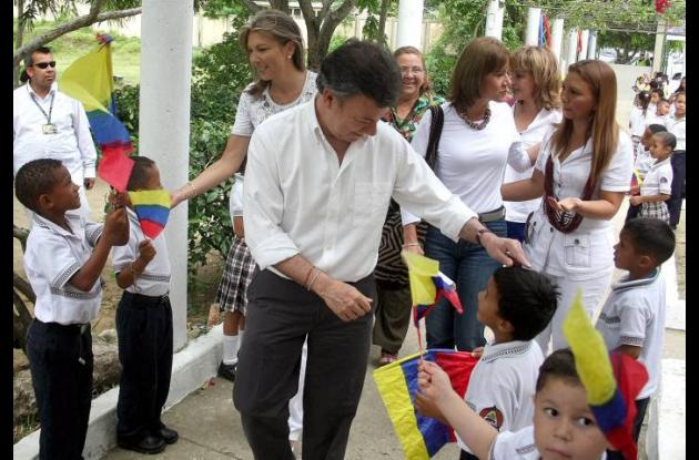 Presidente Santos en Sincelejo