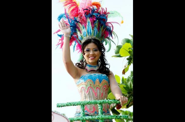 reina de las festividades, Astrid Torres Arévalo