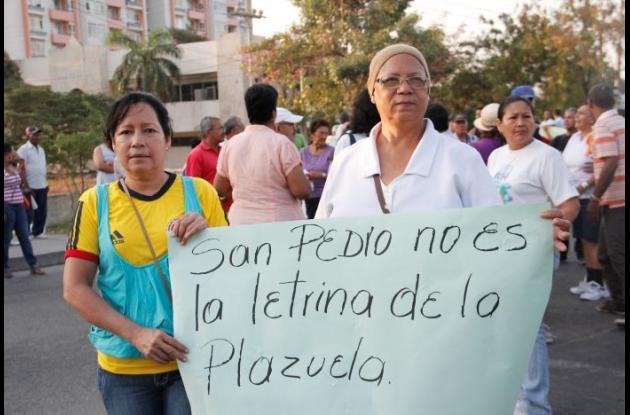 Protestas del Barrio San Pedro