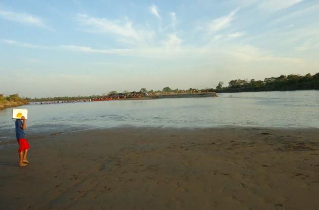 En Magangué se dice que es la peor sequía desde hace 4 años. Sin embargo, la tem