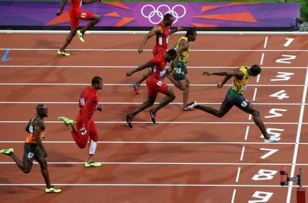 Usain Bolt fue el ganador en los 100 y 200 metros en los Olímpicos