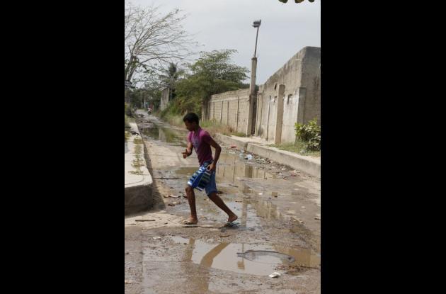 villa grande de indias calles empozadas