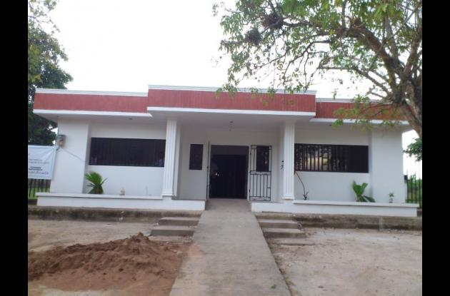 En el centro de salud de Yatí, de la red hospitalaria de la ESE de Magangué, se