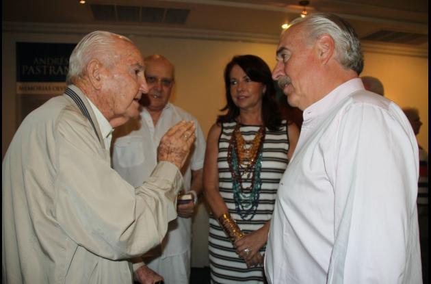 Alberto Araújo Merlano, Humberto Rodríguez Puente, Araceli Morales López  y el expresidente Andrés Pastrana.