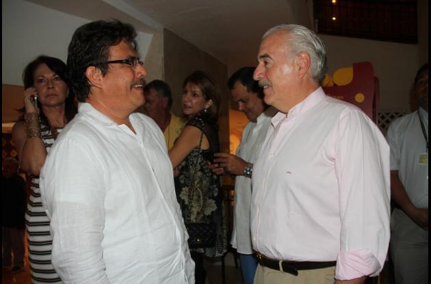 Gustavo Tatis y Andrés Pastrana.