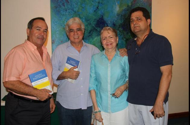 Carlos Otero, Algio De León, Gilma de De León y Jorge Lequerica.