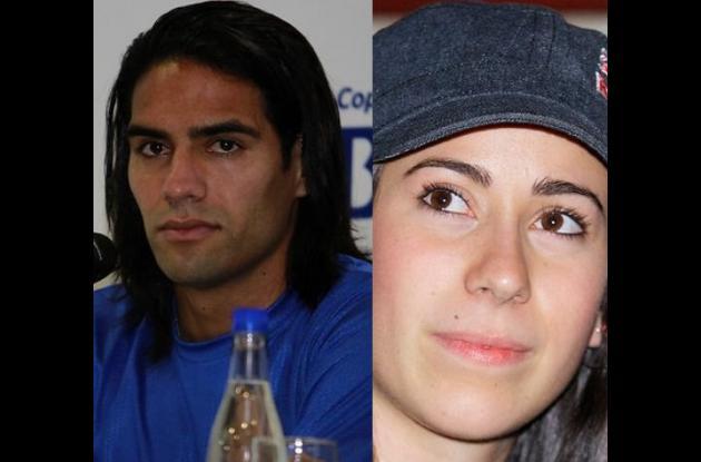 Radamel Falcao y Mariana Pajón.