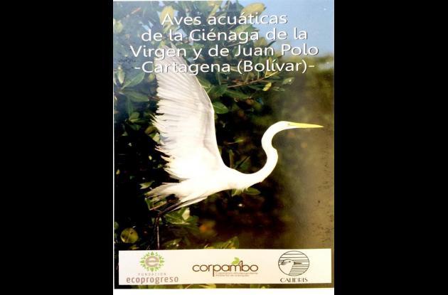 Portada de la Guía de Aves Acuáticas de Cartagena.