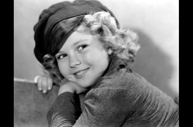 Shirley Temple durante su infancia.