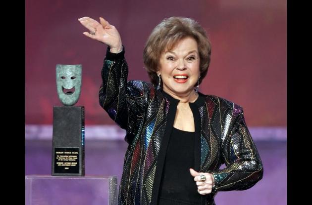 Shirley Temple el 29 de enero 2006 en los Premios del Sindicato de Actores (en inglés: Screen Actors Guild Awards).