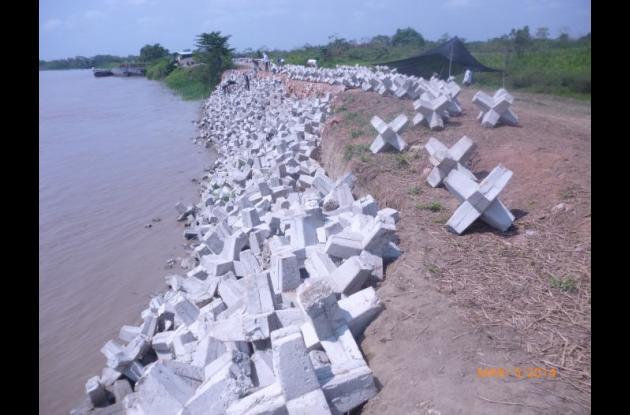 Los trabajos que se realizan en estos momentos buscan evitar de manera preventiva la erosión.