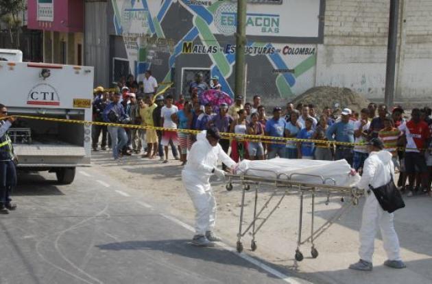 El vigilante julio Contreras, asesinado en Bellavista.