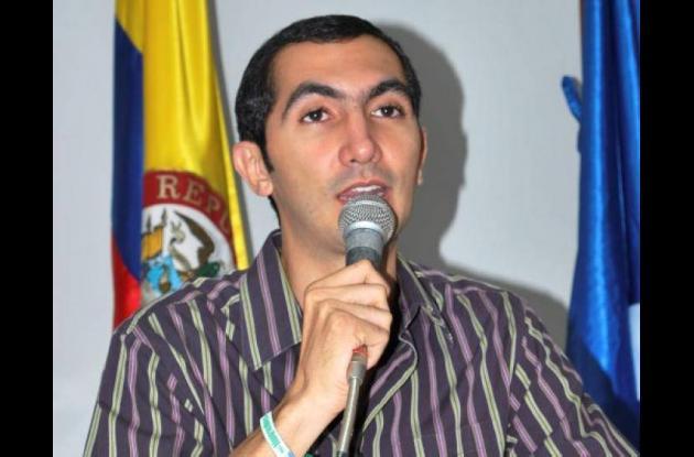 David Barguil, representante a la Cámara por el departamento de Córdoba.
