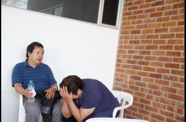 Familiares de Chilenos