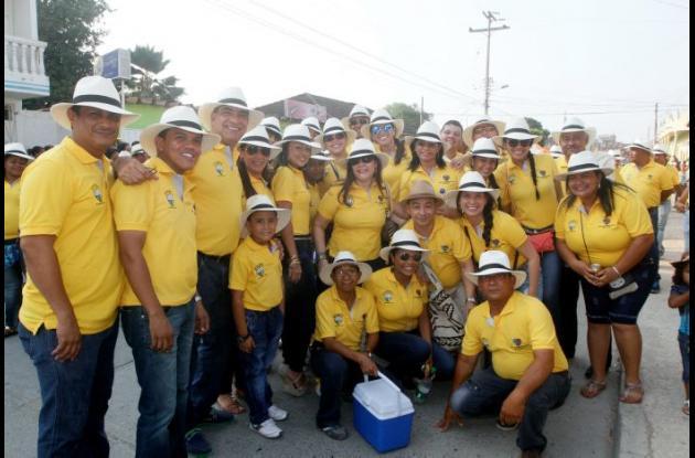 Funcionarios de la Alcaldía de Arjona también se integraron.