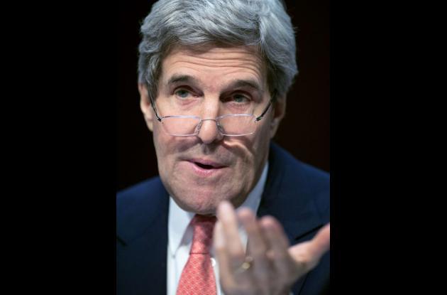 John Kerry, secretario de Estado norteamericano.