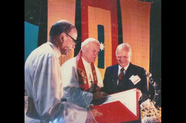 Santificación de Juan Pablo II.