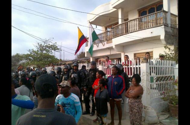 protesta tierrabomba elecciones