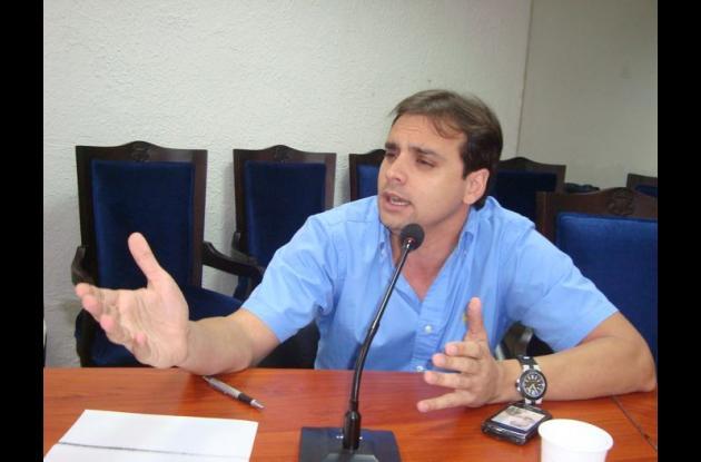 Alfredo Varela, concejal de Barranquilla.