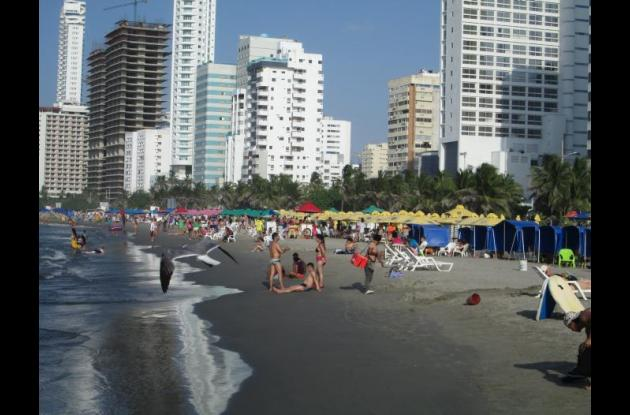 Playas de Bocagrande.