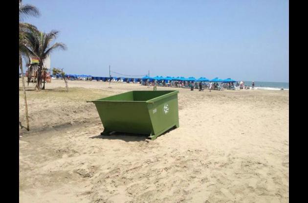 cajas estacionarias de basuras
