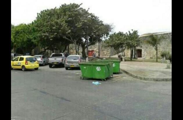 contenedores de basuras