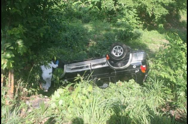 Moto y camioneta chocaron cerca de Carreto. Carlos Badillo, conductor de la moto, murió.