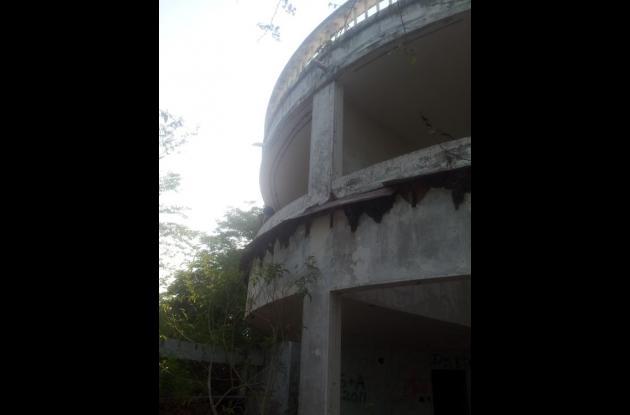 Casa abandonada de Noriega en las playas de Farallón.