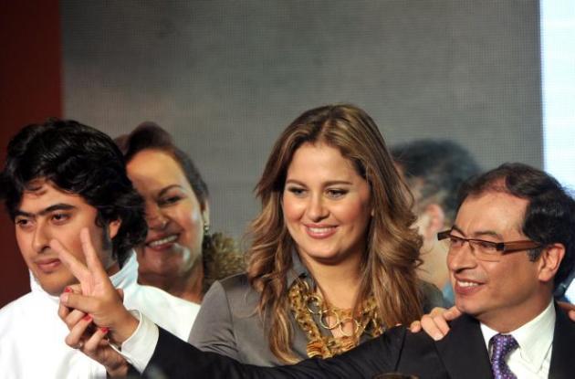 Gustavo Petro y Familia
