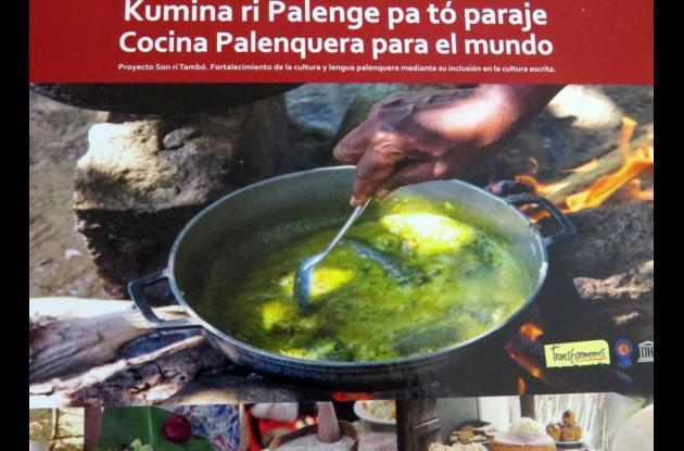 el libro de cocina palenquera 'Kumina ri Palenge Pa Tó Paraje' (Cocina Palenquera para el mundo)