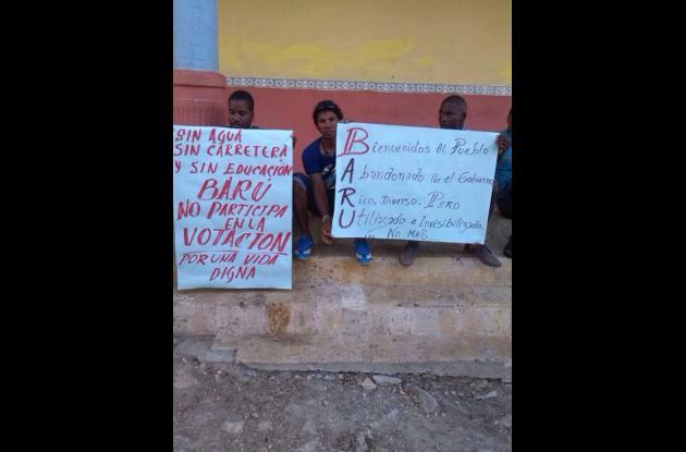 Elecciones presidenciales en Barú