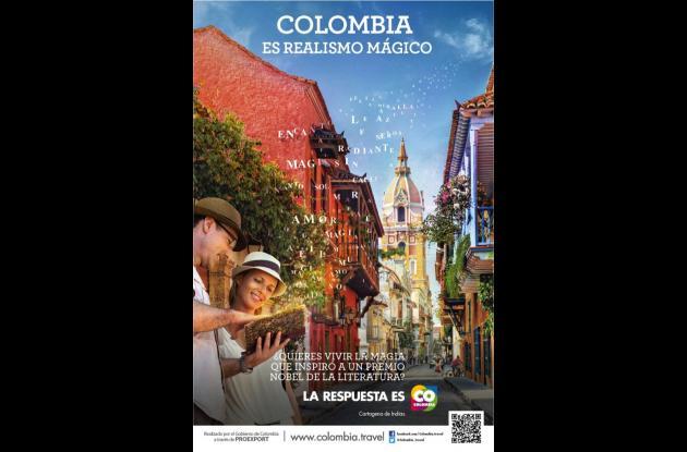 Poster de la campaña turística.
