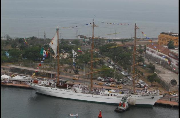 Sail Cartagena de Indias 2014, Cuauhtémoc