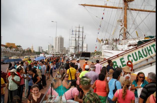 Sail Cartagena de Indias 2014 Cuauhtémoc