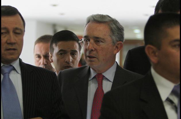 Álvaro Uribe, senador y expresidente de la República.