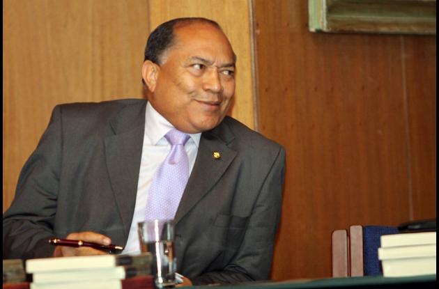 Ministro de Minas y Energía, Amylkar Acosta.