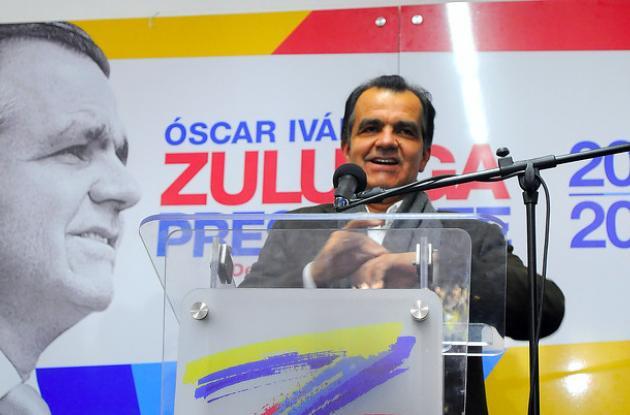 Óscar Iván Zuluaga, candidato presidencial por el Centro Democrático.