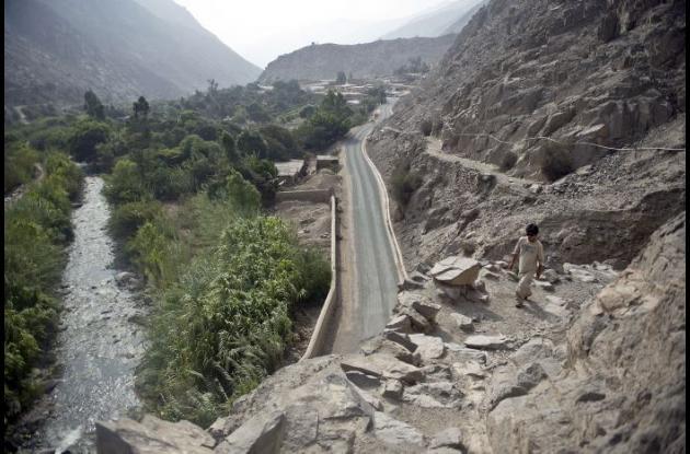Uno de los senderos del Camino del Inca en Perú.