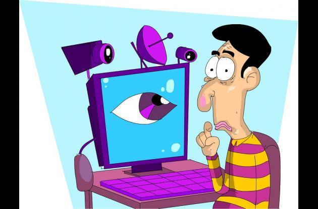 Espionaje en redes sociales